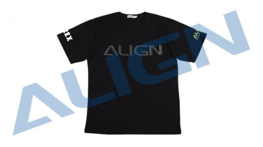 T-REX Flying T-Shirt (HELI PILOT) - Black XL HOC00219-5 by Align