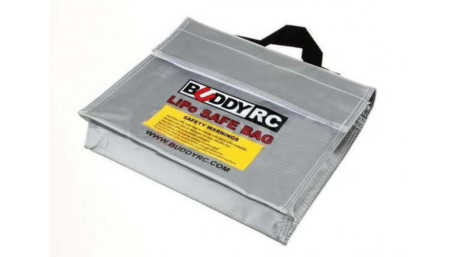 LiPo Battery Safe Carrying and Storage Bag 241x178x64mm EPB-LIPO-CUBE