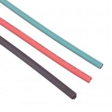 Shrink Tubing 2mm Red - Black - Green