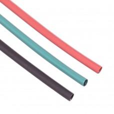 Shrink Tubing 3mm Red - Black - Green