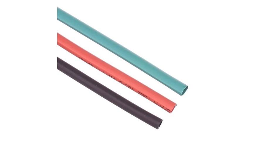 Shrink Tubing 4mm Red - Black - Green ATS-9304