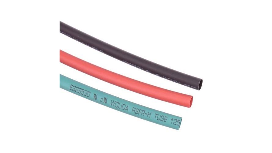Shrink Tubing 5mm Red - Black - Green ATS-9305