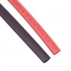 Shrink Tubing 6mm Red - Black