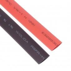 Shrink Tubing 10mm Red - Black