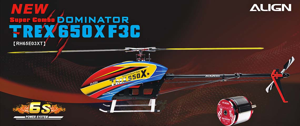 Align T-REX Dominator 650X F3C