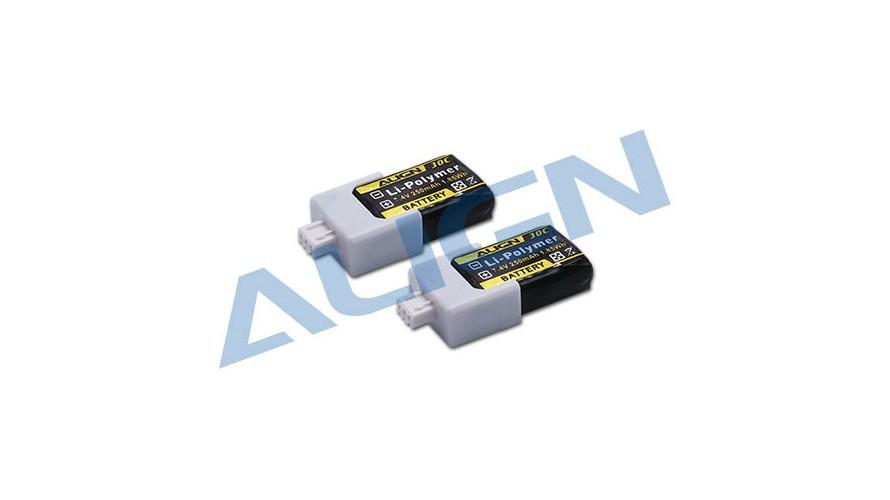 150X 250mAh 30C 2S 7.4V Battery