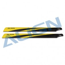 700N Carbon Fiber Blades - Yellow