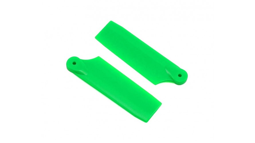 50mm Tail Blade Set Green SP-OXY2-059-2 by Lynx Heli Innovations