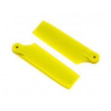 Lynx 47mm Tail Blade Set - Yellow