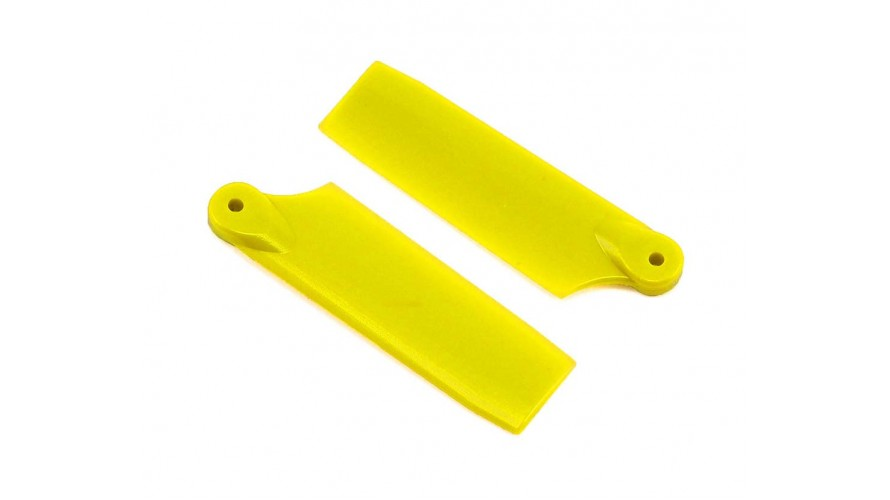 47mm Tail Blade Set Yellow SP-OXY2-058-4 by Lynx Heli Innovations