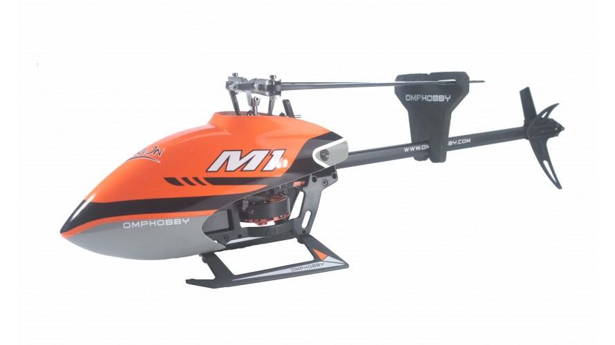 OMP-M1-ORANGE OMPHOBBY M1 RC Helicopter OMP Protocol Orange