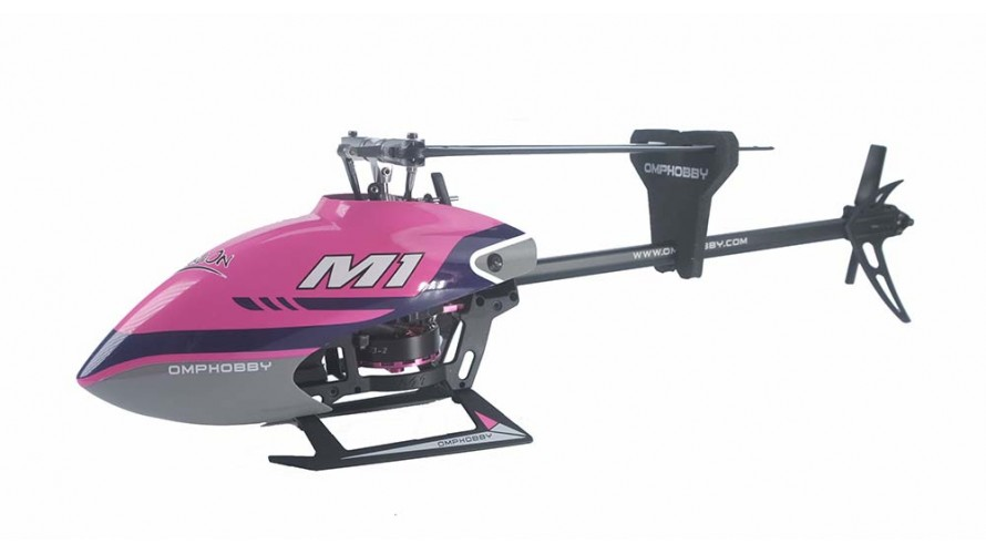 OMP-M1-PURPLE OMPHOBBY M1 RC Helicopter OMP Protocol Purple
