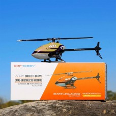 OMPHOBBY M1 RC Helicopter SFHSS Protocol - Yellow