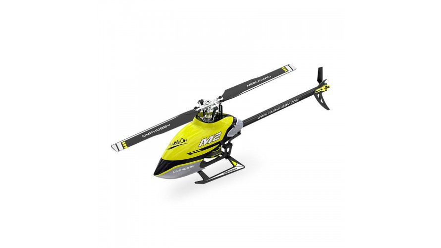 OMP M2 V2 RC Helicopter BNF Bind and Fly - Yellow OSHM2-V2-Y by OMPHOBBY