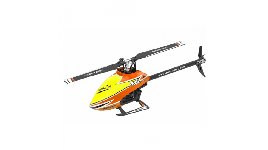 OMP M2 Explore (EXP) RC Helicopter BNF - Orange OSHM2-EXP-O by OMPHOBBY