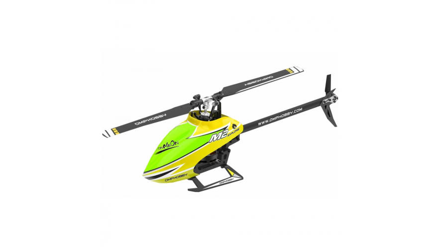 OMPHobby M2 RC Helicopter Explore (EXP) Version - Yellow
