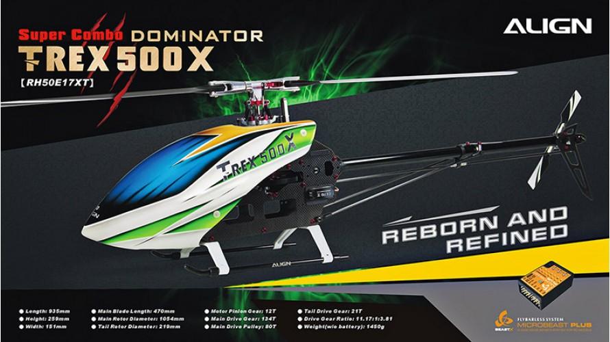 T-REX 500X Dominator Super Combo Belt RH50E17X by Align