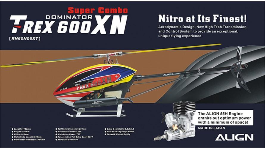 T-REX 600XN Dominator Super Combo RH60N06X