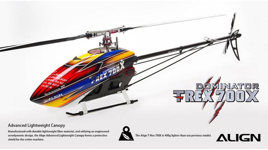 T-REX 700X Dominator Super Combo RH70E23X by Align