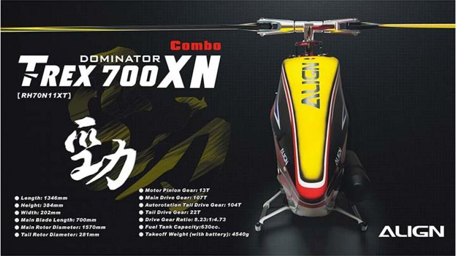 T-REX 700XN Dominator Combo RH70N11X by Align