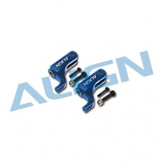 T-REX 450DFC Main Rotor Holder Set - Blue