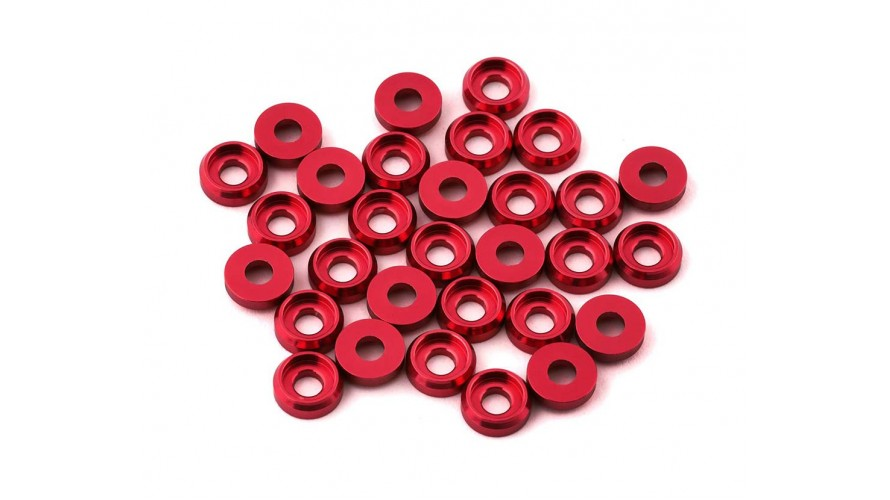 T-REX 470L M2.5 Special Washer - Red H47Z004XR by Align