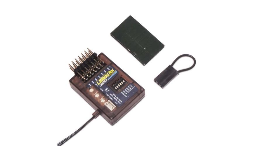 Rx Stabilizer 7 Channel Lemon DSMP Diversity Antenna DSMX Compatible End Pin LM0033