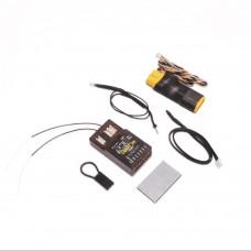 Rx 7 Channel DSMX Full-Range Lemon Telemetry Diversity Receiver Energy Meter XT60