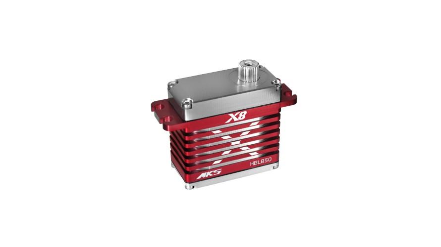 HBL850 Brushless High Speed Digital Cyclic Servo (High Voltage) MKS-HBL850 by MKS