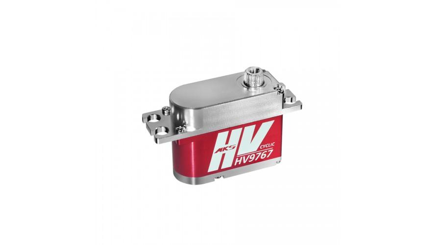 HV9767 MKS Titanium Gear Digital Cyclic Servo (High Voltage) MKS-HV9767
