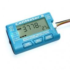 CellMeter 8 Battery Checker - Servo Tester - Balancer by AOK